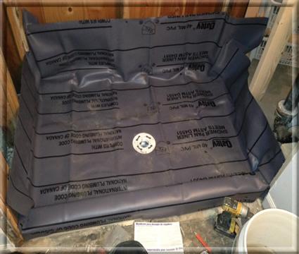 roswell ga shower pan repair