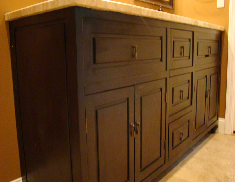 Purple Bathroom Vanity with Custom Bathroom Vanities And Cabinets also
